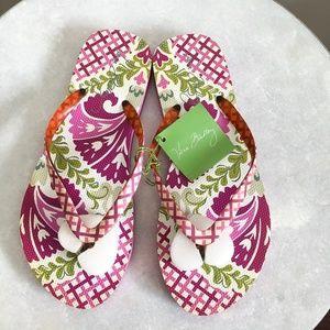 Vera Bradley | Flip Flops in Julep Tulip